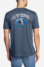 Men's Graphic T-Shirt - My Tent My Snacks
