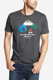 Men's Graphic T-Shirt - Don't Start