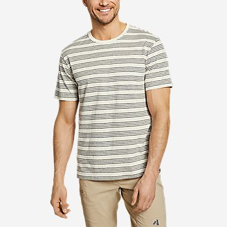 Thumbnail View 1 - Men's Legend Wash Pro Short-Sleeve T-Shirt - Stripe
