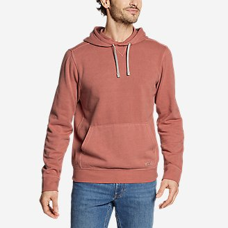 Eddie Bauer Camp Fleece Riverwash Pullover Hoodie