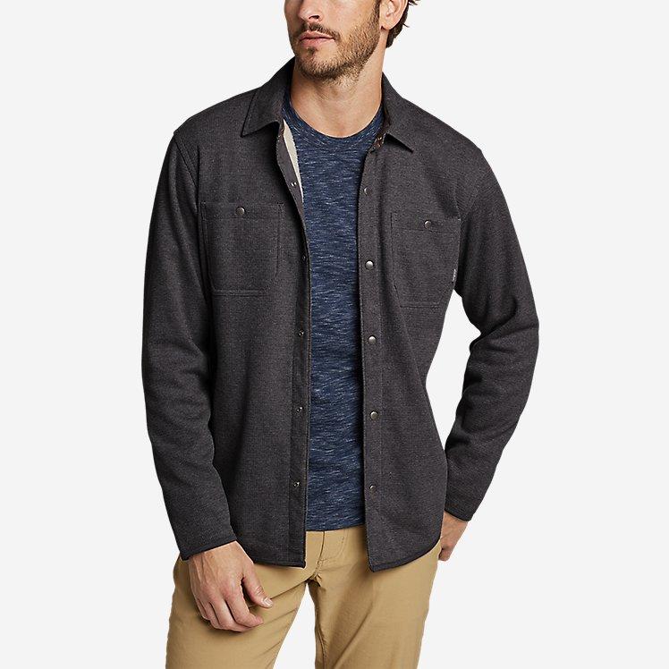Men's Sherpa-Lined Thermal Shirt large version