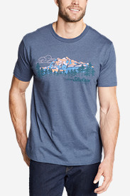Men's Graphic T-Shirt - Shuksan