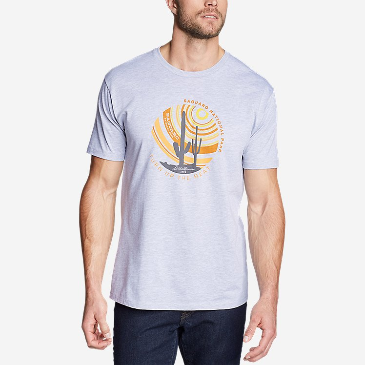 Men's Graphic T-Shirt - Saguaro large version