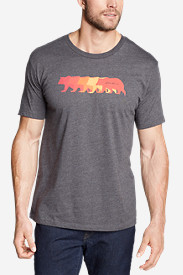 Men's Graphic T-Shirt - Bear Line