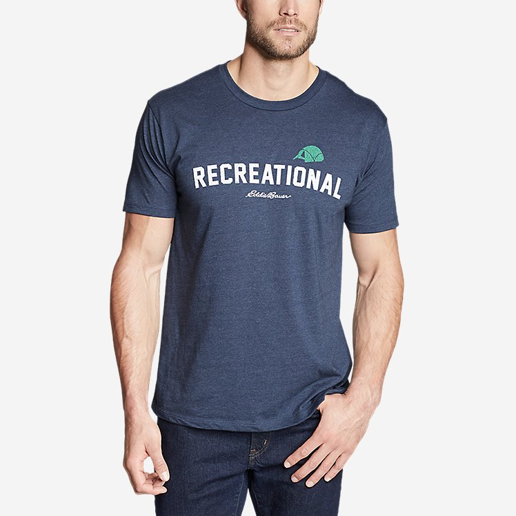 Men's Graphic T-Shirt - Recreational large version