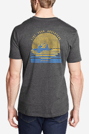 Men's Graphic T-Shirt - Setting Sun