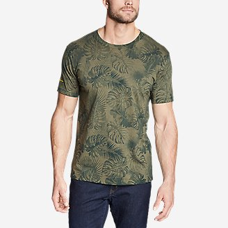 Thumbnail View 1 - Men's Graphic T-Shirt - Please Leaf