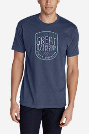 Men's Graphic T-Shirt - Great Outdoor Adventure