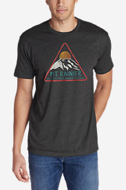 Men's Graphic T-Shirt - Gradient Rainier