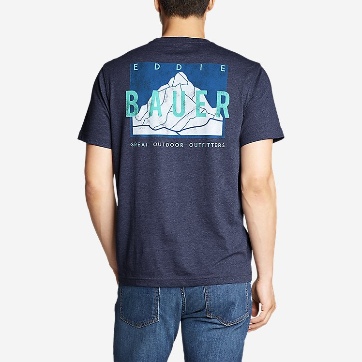 Men's Graphic T-Shirt - Peak and Valley large version