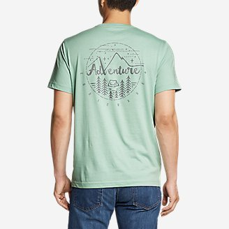 Thumbnail View 1 - Men's Graphic T-Shirt - Adventure Camp