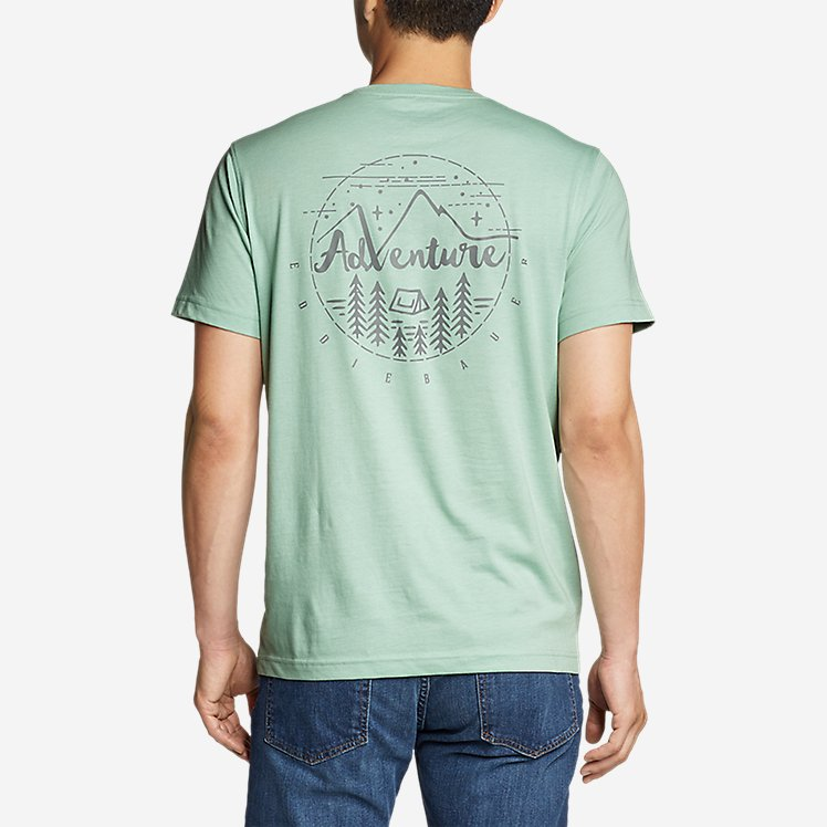 Men's Graphic T-Shirt - Adventure Camp large version