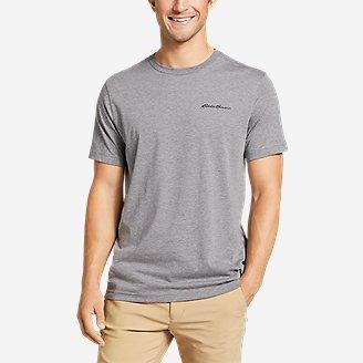 Thumbnail View 1 - Men's Graphic T-Shirt - Gradient Sunset