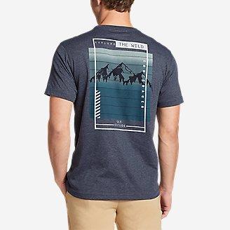 Thumbnail View 1 - Men's Graphic T-Shirt - The Wild