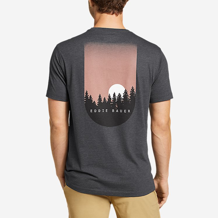 Men's Graphic T-Shirt - Moonset large version