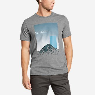 Thumbnail View 1 - Men's Graphic T-Shirt - Mountainrise