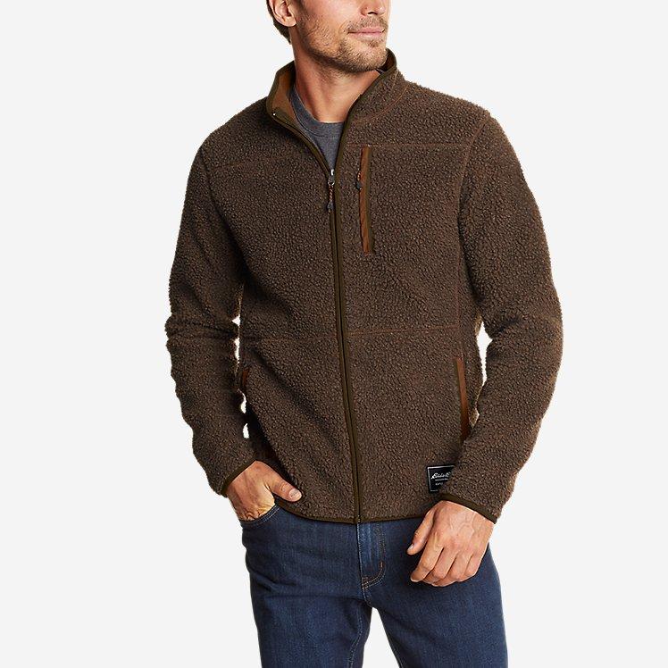 Men's Chilali Sherpa-Fleece Full-Zip Mock large version