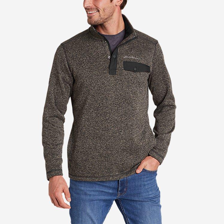 Men's Radiator Fleece 2.0 Snap Mock large version
