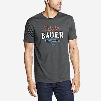 Thumbnail View 1 - Men's Graphic T-Shirt - Americana Script
