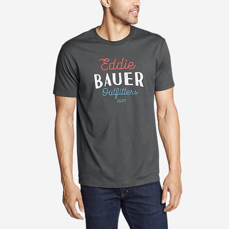 Men's Graphic T-Shirt - Americana Script large version