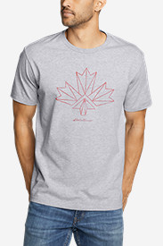 Men's Graphic T-Shirt - Canada Vector Leaf