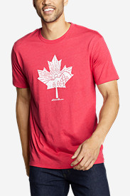 Men's Graphic T-Shirt - Canada Leafscape