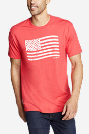 Men's Graphic T-Shirt - Flag Stamp