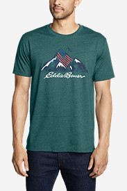 Men's Graphic T-Shirt - Americana Mountain