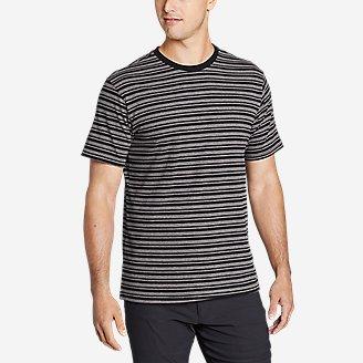 Thumbnail View 1 - Men's Novelty Stripe Short-Sleeve T-Shirt