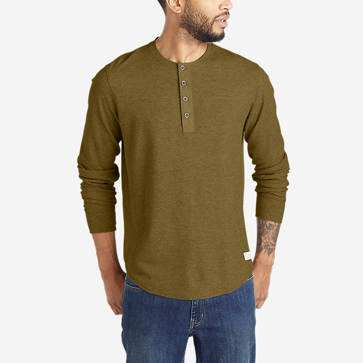 Men's Wild River Thermal Henley large version
