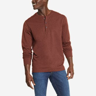 Thumbnail View 1 - Men's Adventurer®  Long-Sleeve Henley