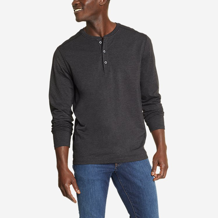 Men's Adventurer®  Long-Sleeve Henley large version