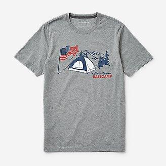 Thumbnail View 1 - Men's Graphic T-Shirt - US Basecamp