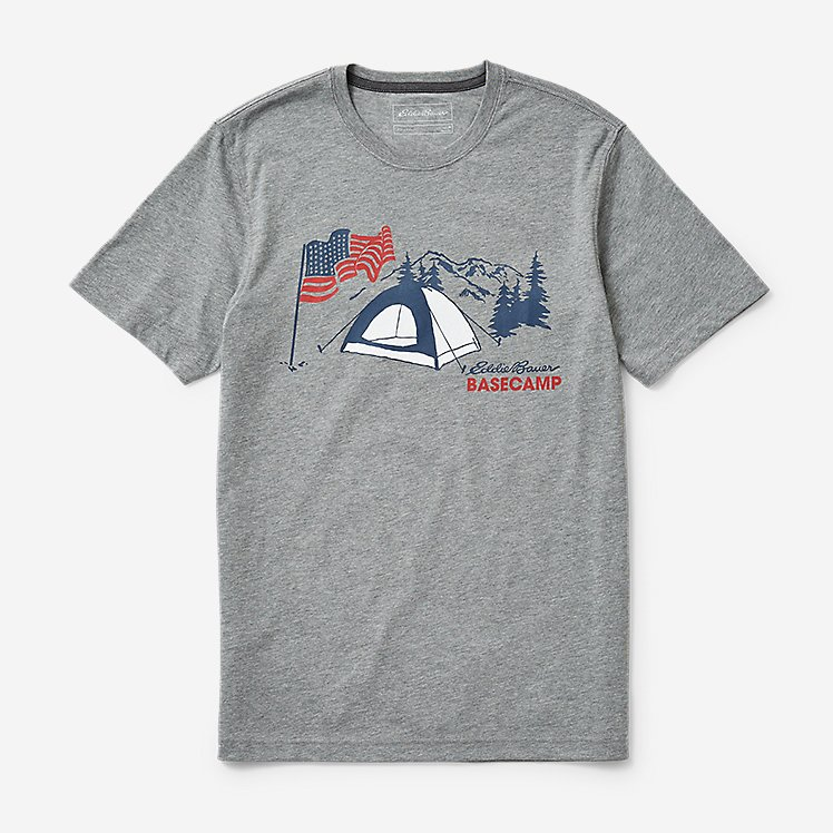 Men's Graphic T-Shirt - US Basecamp large version