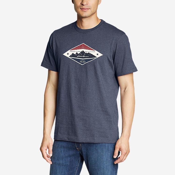 Men's Graphic T-Shirt - Eddie Bauer Diamond large version