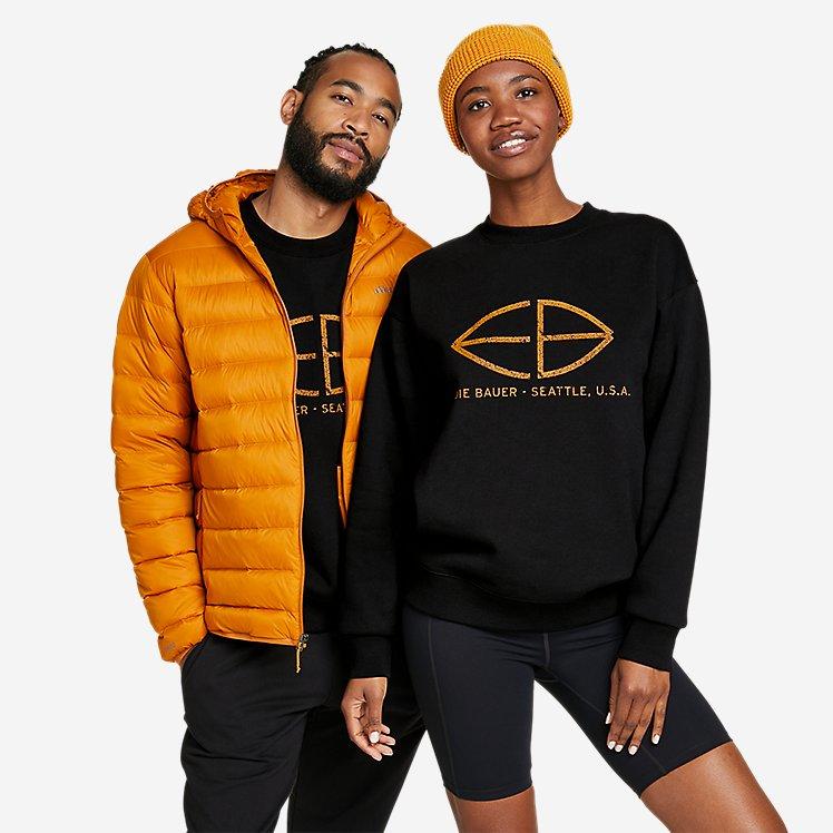 Men's Eddie Bauer Signature Sweatshirt large version