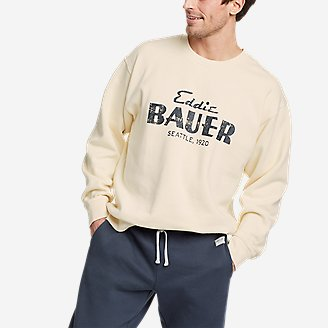 Thumbnail View 1 - Men's Eddie Bauer Signature Sweatshirt