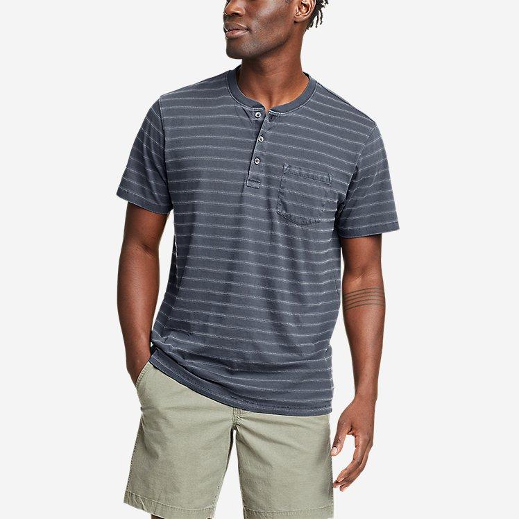 Men's Tidelands Short-Sleeve Henley large version