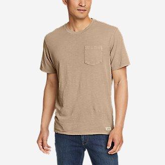Thumbnail View 1 - Men's Earth Wash Slub Short-Sleeve Pocket T-Shirt