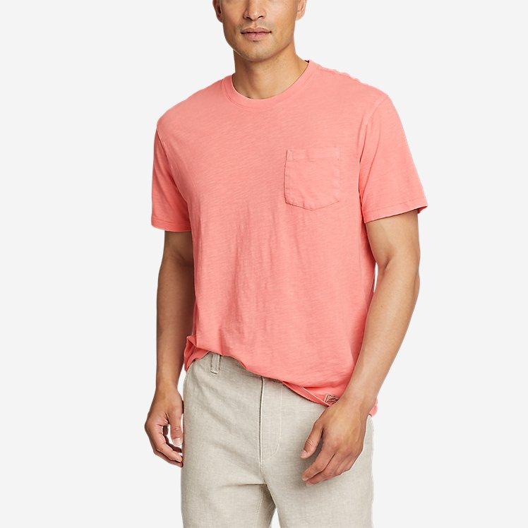Men's Earth Wash Slub Short-Sleeve Pocket T-Shirt large version