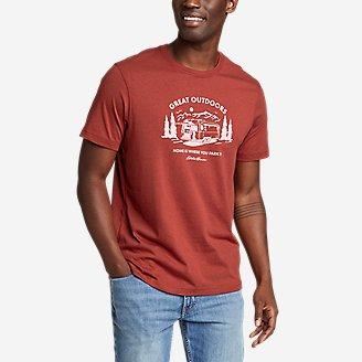 Thumbnail View 1 - Men's Graphic T-Shirt - Park At Home