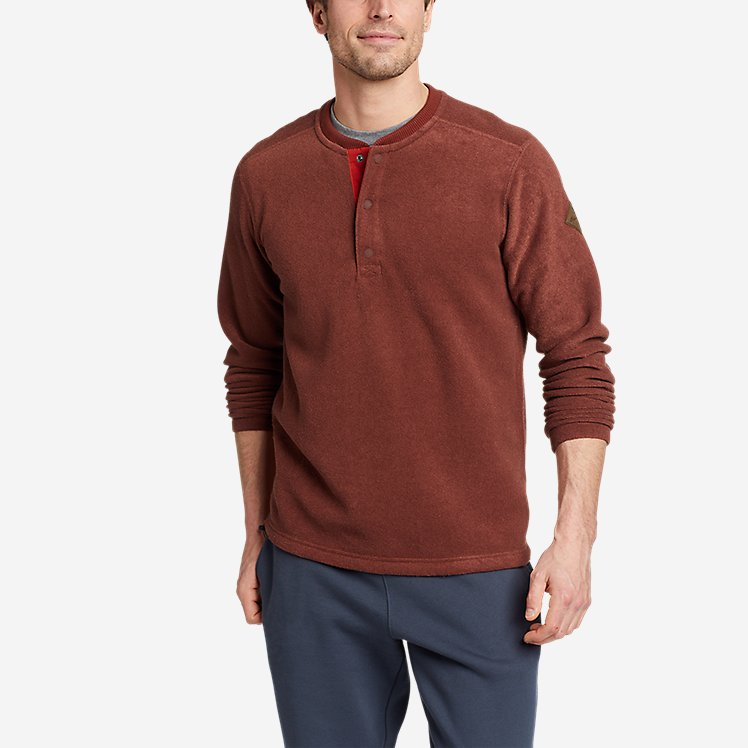 Men's Mountain Long-Sleeve Henley 2.0 large version