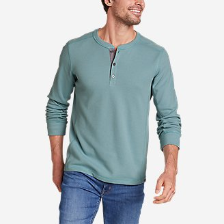 Thumbnail View 1 - Men's Eddie's Favorite Ultrasoft Thermal Henley