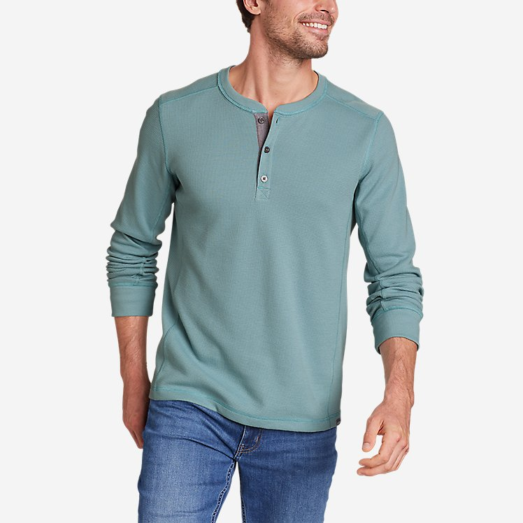 Men's Eddie's Favorite Ultrasoft Thermal Henley large version