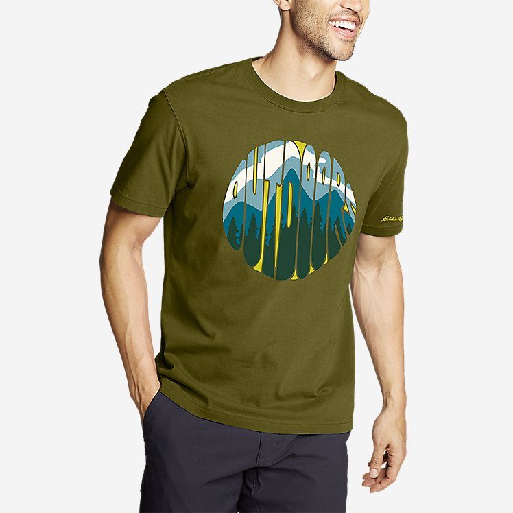 Men's Graphic T-Shirt - Outdoor Groove large version