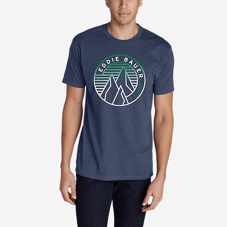 Men's Graphic T-Shirt - Gradient Peaks large version