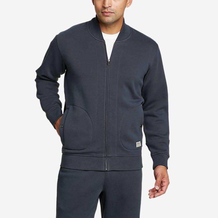 Men's Signature Sweatshirt Bomber large version