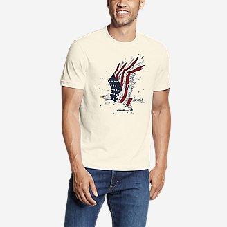 Thumbnail View 1 - Men's Graphic T-Shirt - Soaring Patriot