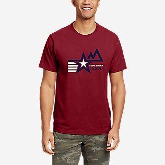 Thumbnail View 1 - Men's Graphic T-Shirt - Mod Star