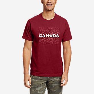 Thumbnail View 1 - Men's Graphic T-Shirt - Canada Vibes